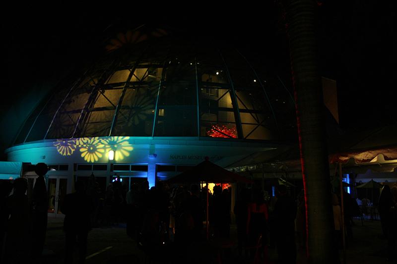 EDC_CollierCounty_Awards_2005_Philharmonic_Naples_courtyard_dome_lighting