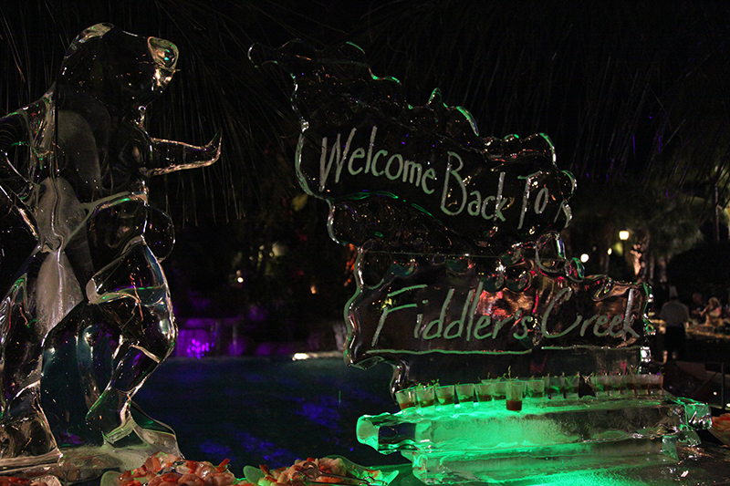 Fiddlers_Creek_Welcome_Back_Ice_Event_lighting_naples