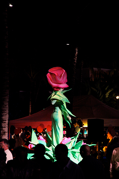 Fiddlers_Creek_Welcome_Back_Live_Flower_Event_Lighting_Naples