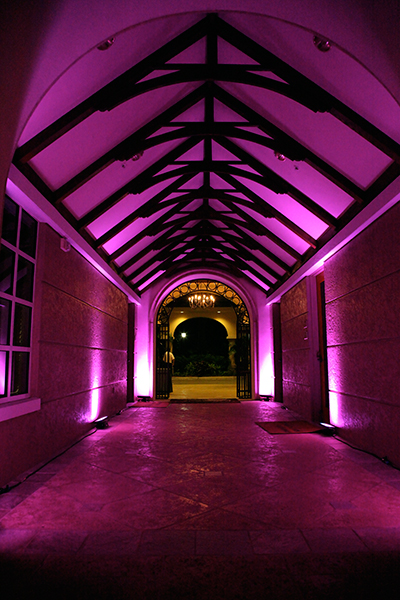 Fiddlers_Creek_Welcome_Back_Pink_Hallway_LED_lighting_Naples