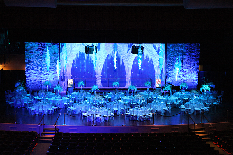 25th anniversary gala at artis naples 2013 artistic science for 25th wedding anniversary stage decoration