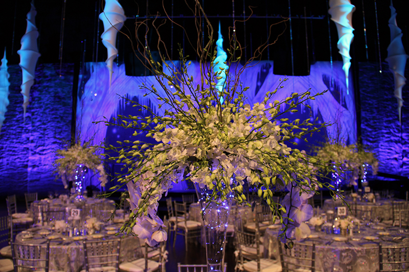 Fire&IceGala_Artis-Naples_25thAnniversary_Stage_Lighting_Event_Design_flowers_close